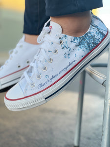Breaking the Glass Ceiling - Custom Sneaker Low Top Converse