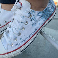 Load image into Gallery viewer, Breaking the Glass Ceiling - Custom Sneaker Low Top Converse