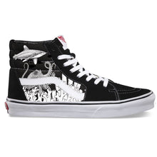 Load image into Gallery viewer, Coral Reef Sk8 Hi Vans - Available in Black and White
