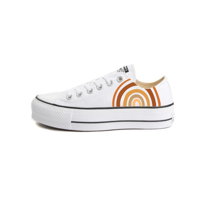 Support For All Converse Platforms - Custom Converse for Summer, Pride, Parades, Marches, Picnics