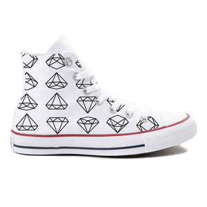 Diamond High-Top Converse