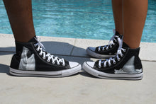 Load image into Gallery viewer, Great White Shark Breach High Top Converse