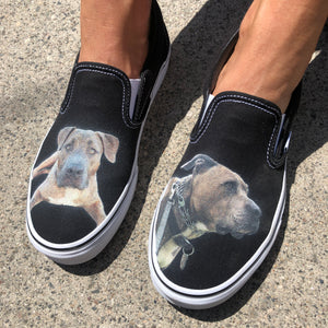 Custom Pet Slip On VANS