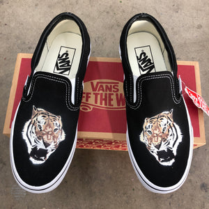 Custom Slip On Vans - GO CUSTOM!