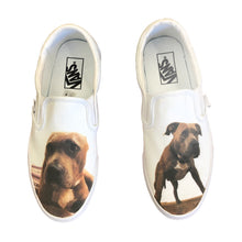Load image into Gallery viewer, Custom Pet Slip On VANS