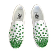 Load image into Gallery viewer, Lucky Clover Slip On Vans