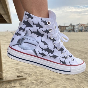 In Danger, Not Infested Oceans High Top Converse