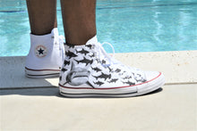 Load image into Gallery viewer, In Danger, Not Infested Oceans High Top Converse