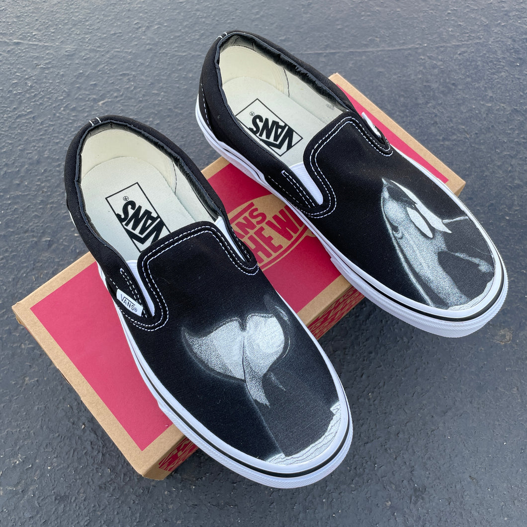 Orca Surface Slip On Vans - Available in Black and White
