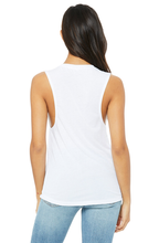 Load image into Gallery viewer, SoCal Cetacea Women's Flowy Scoop Muscle Tank Top