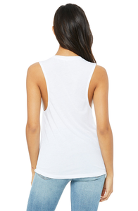 SoCal Cetacea Women's Flowy Scoop Muscle Tank Top