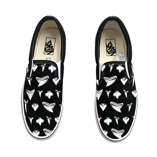 Shark Teeth Slip-On Vans