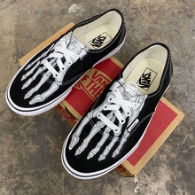 Load image into Gallery viewer, Custom Vans Authentic Skeleton Boney Feet