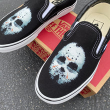Load image into Gallery viewer, Friday the 13th Jason Custom Vans Slip On Sneakers