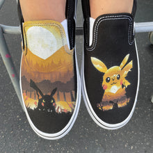Load image into Gallery viewer, I Choose You! Custom Vans Slip On Sneakers