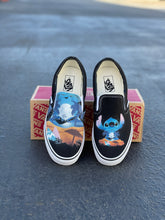 Load image into Gallery viewer, Ohana Means Family Custom Vans Slip On Sneakers