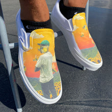 Load image into Gallery viewer, Tyler, the Creator Flower Boy Album - Custom Slip On Vans