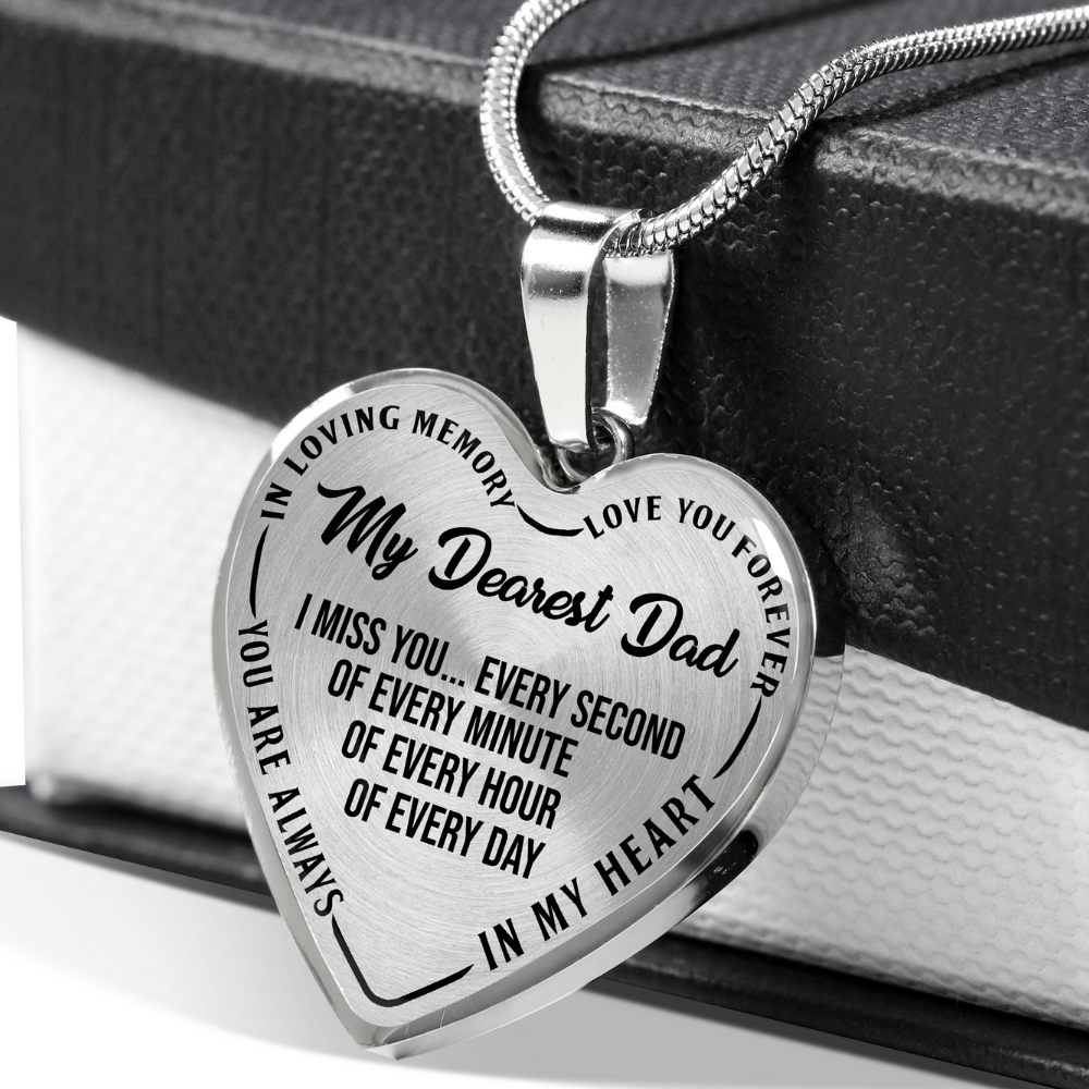 Memorial Dad Necklace
