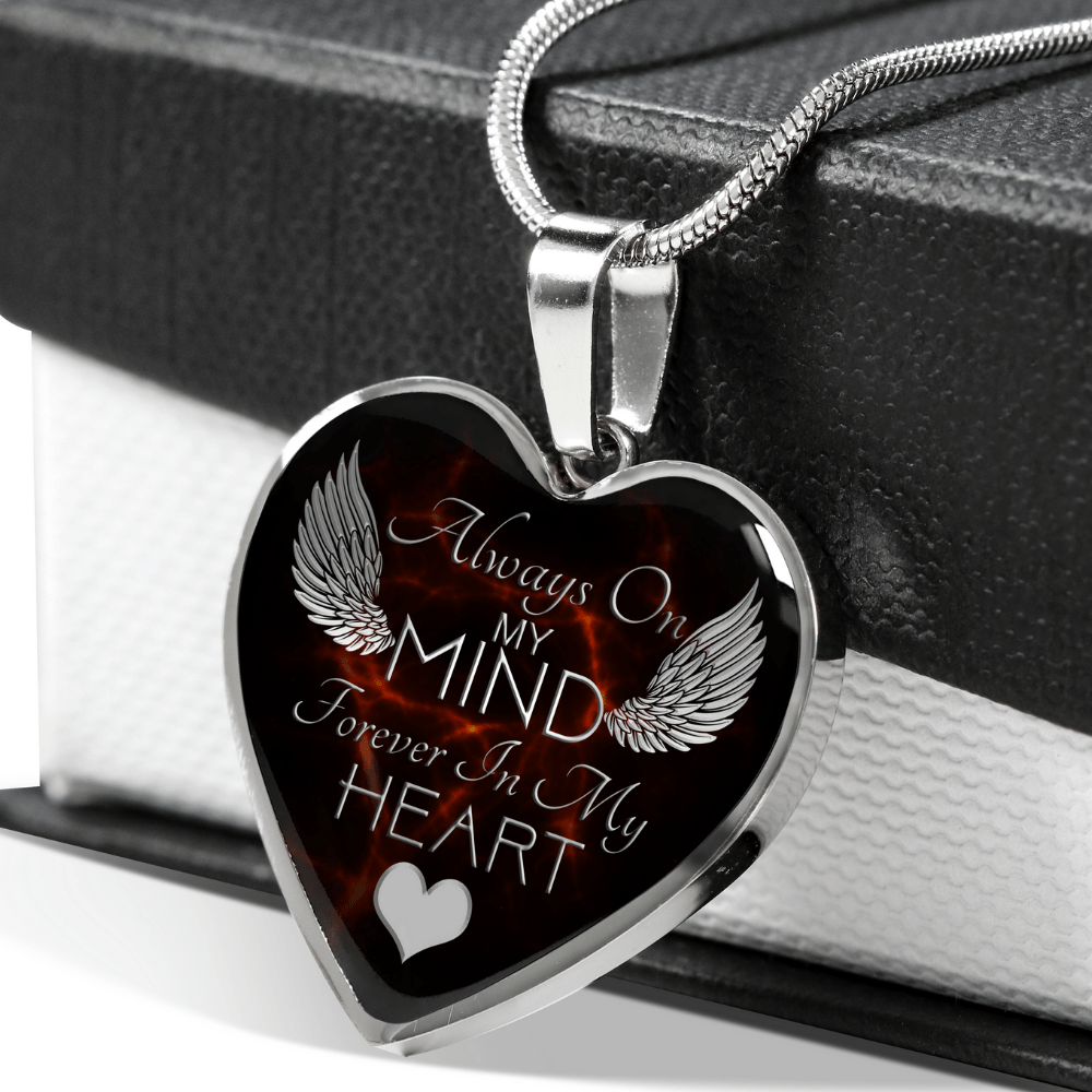 MEMORIAL Heart Necklace
