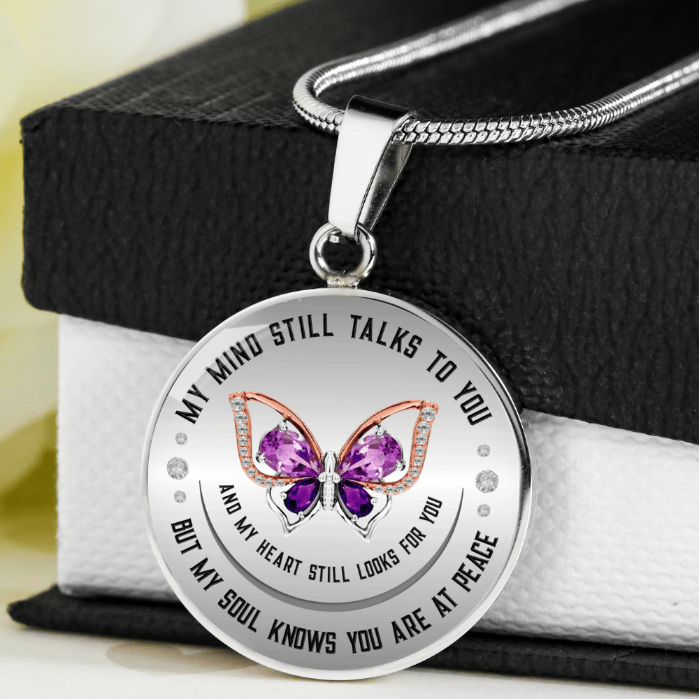 My Mind Still Talks To You Necklace