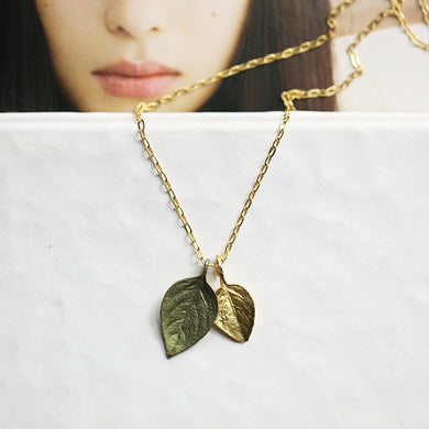 Fashion plant flower alloy Necklace