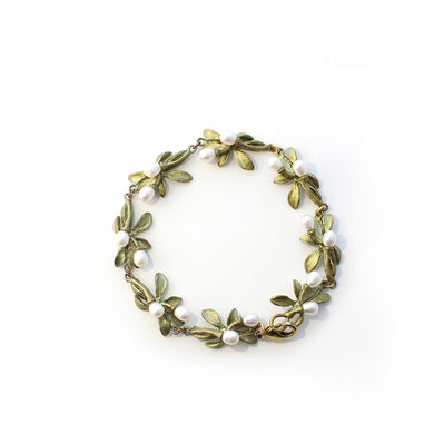 Fashion plant flower alloy bracelet