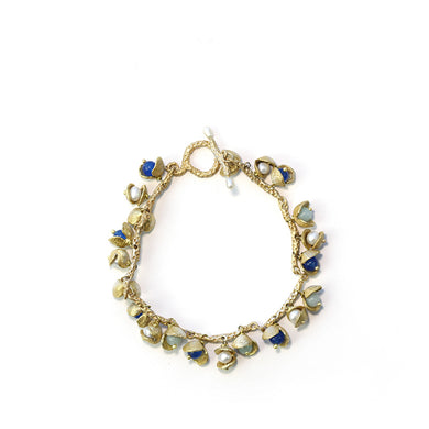 Fashion Pearl shell alloy bracelet