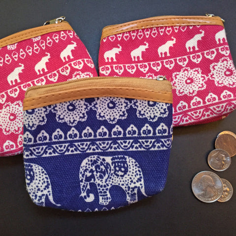 Elephant Coin Purse