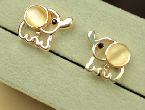 Elephant Earrings - Baby Studs