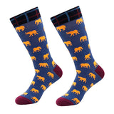 SOCKS - Fun Elephant Dress Socks