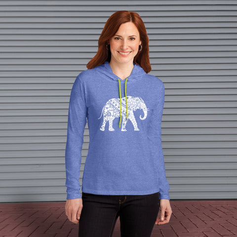 T-SHIRT - Painted Elephant Awareness - Hooded Tee
