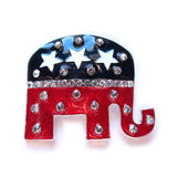 Republican GOP Elephant Brooch