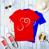 V-Neck PATRIOTIC Short Sleeve Tee