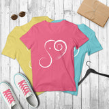 Short-Sleeve Elephant Spirit Tee V-NECK