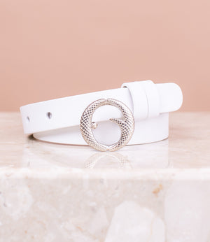 Mini Sterling Silver & Italian White Belt II