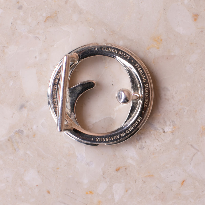 Mini Sterling Silver Buckle