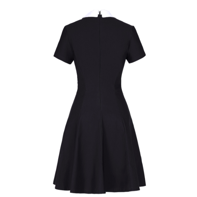 ADDAMS Short Sleeves Dress