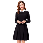 ADDAMS Long Sleeves Dress