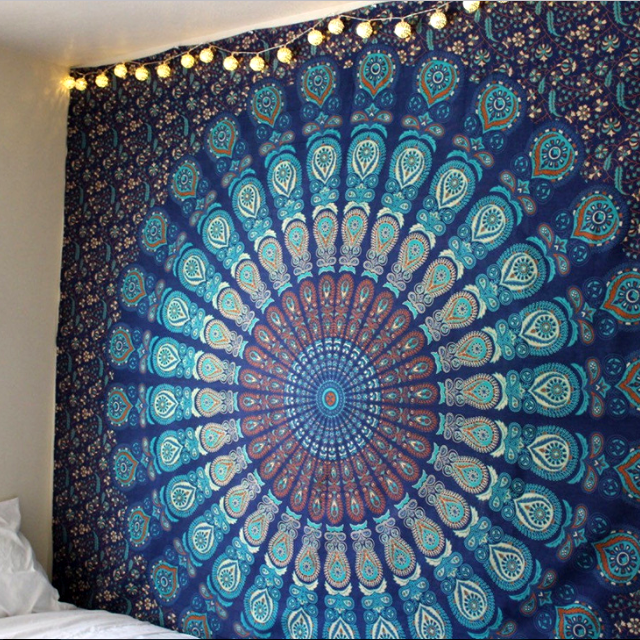NOBLE PEACOCK Tapestry - 4 Designs