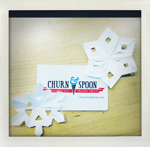 Churn & Spoon Gift Cards