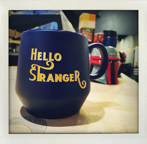Hello Stranger Diamond Mug