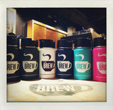12oz Brew Logo Hydro Flasks