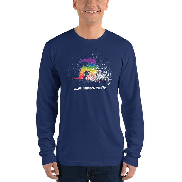 BEND Edition Winter PRIDE Snowboard Long Sleeve