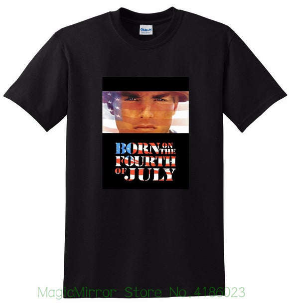 b38dacf59 New * Born On The Fourth Of July T Shirt 4th Tom Cruise Small Medium