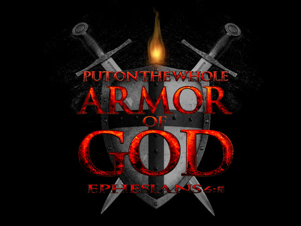 Put on the Whole Armor of God - Short-Sleeve Unisex T-Shirt