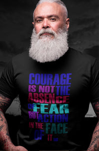 Courage - Short-Sleeve Unisex T-Shirt
