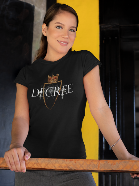 Decree w/ Shield, Crown & Knights - Women's short sleeve t-shirt