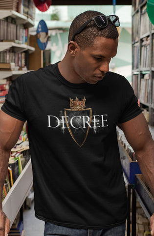 Decree - w/ shield, crown & knights - Short-Sleeve Unisex T-Shirt