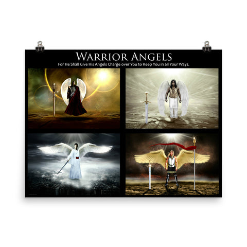 Warrior Angels - For He has Given His Angels Charge over Thee.
