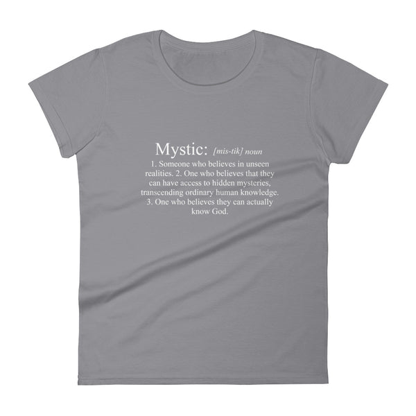 Definition of a Mystic - Women's short sleeve t-shirt